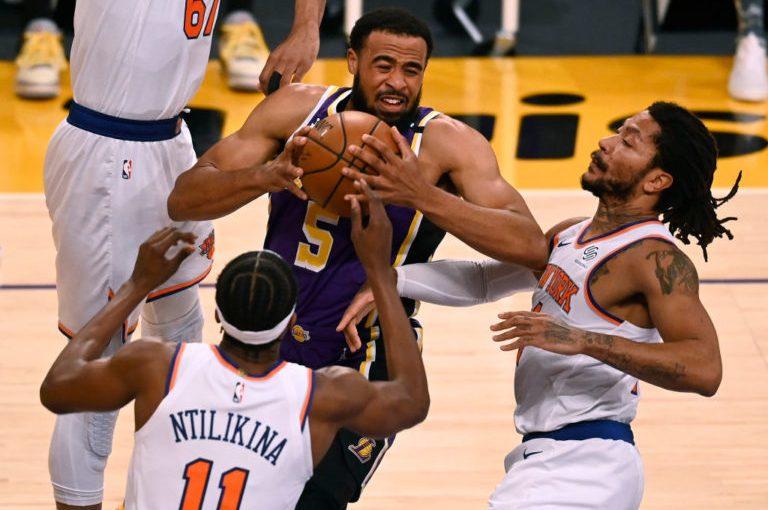 Grâce au trois points de Horton Tucker, les Lakers ont battu les Knicks en prolongation