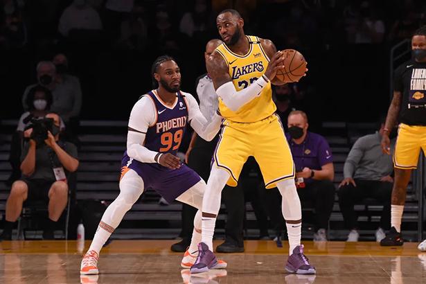 maillot nba Los Angeles Lakers